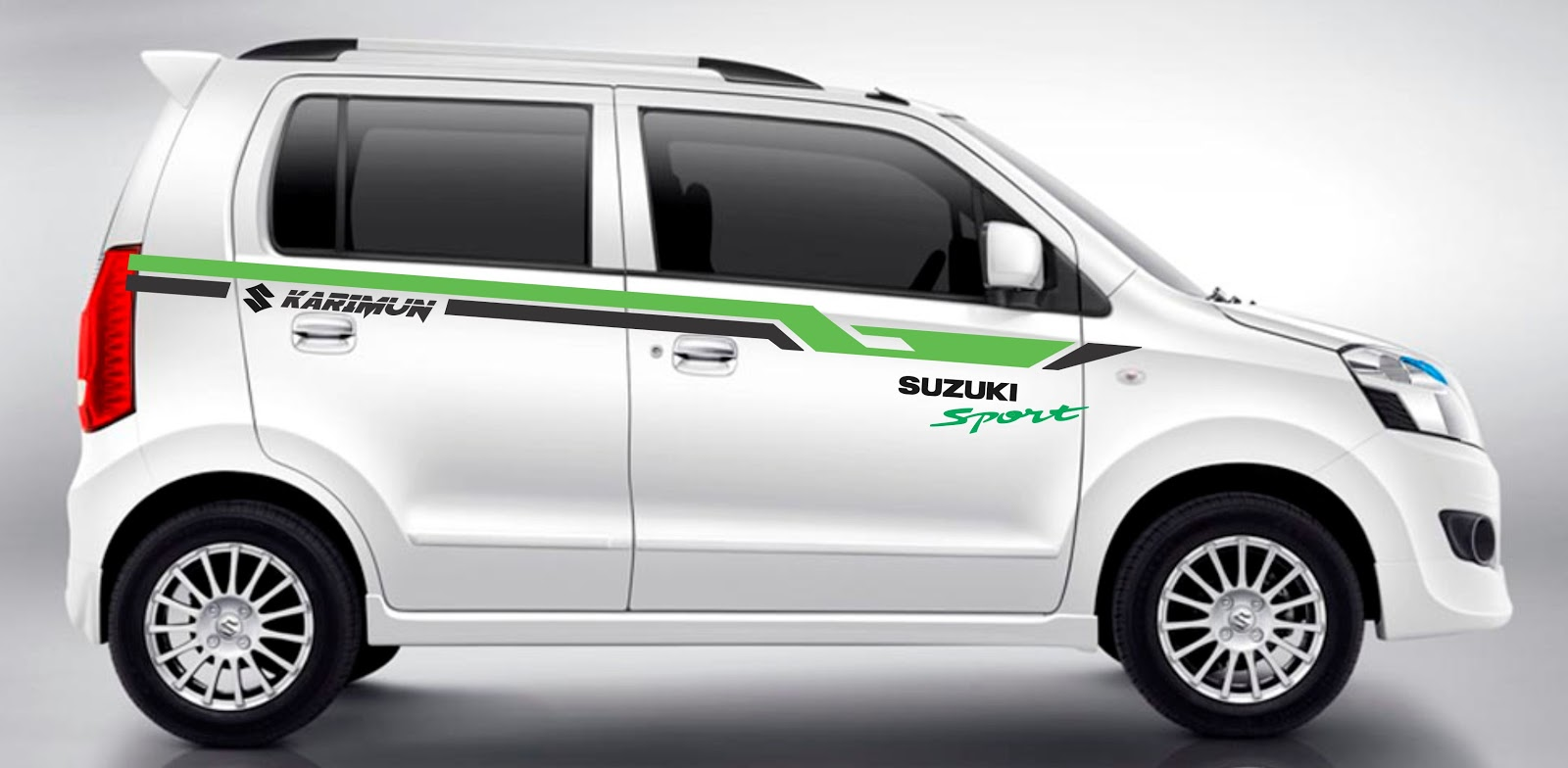 Modifikasi harga cutting sticker mobil karimun 2019 retromodif