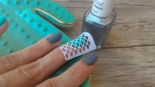 Cómo hacer unas Mermaid Nails o Uñas de Sirena