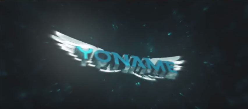 Cinema4d Galaxy Wings Intro Template