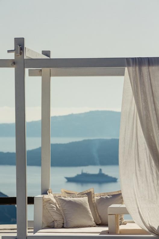 hotel de lujo en Santorini