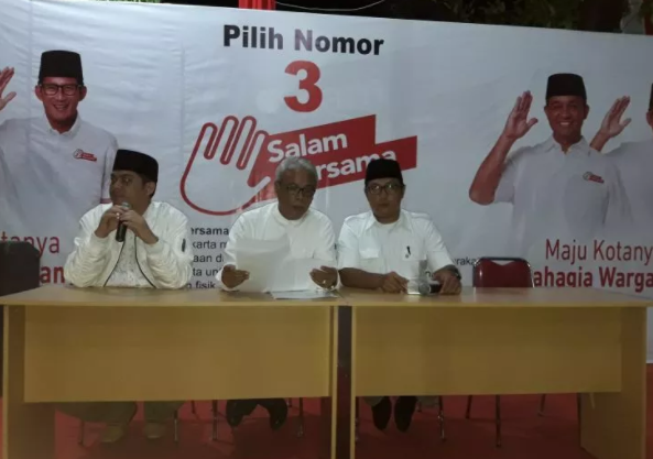 Nah Loh! Tim Anies-Sandi Temukan Keterlibatan SKPD Pemprov Bantu Petahana
