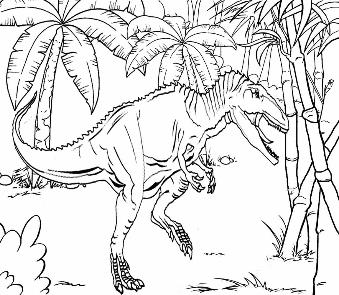 wildearlyjurassicplanettropical - Lego Jurassic Park Coloring Pages