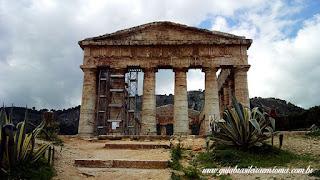 guia brasileira segesta sicilia - Área arqueológica de Segesta na Sicília