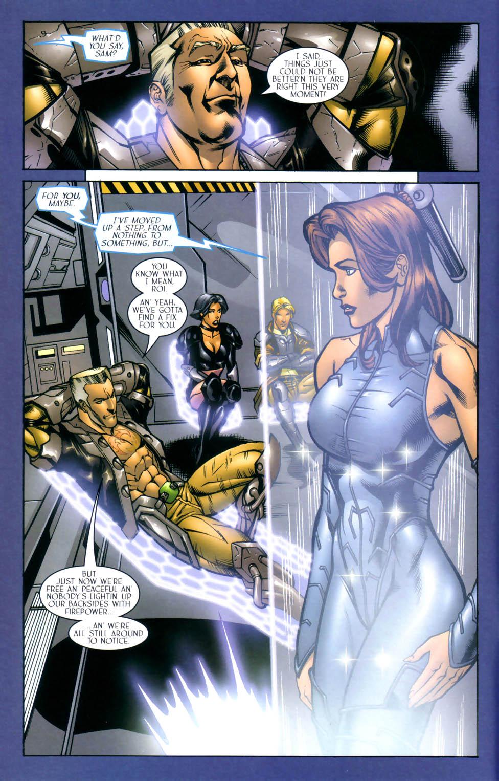 Read online Sigil (2000) comic -  Issue #8 - 7
