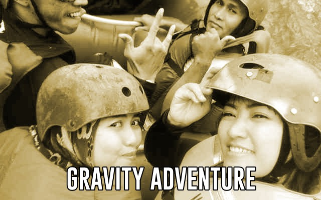 Rafting di Sungai Palayangan Kaskus Gravity Adventure