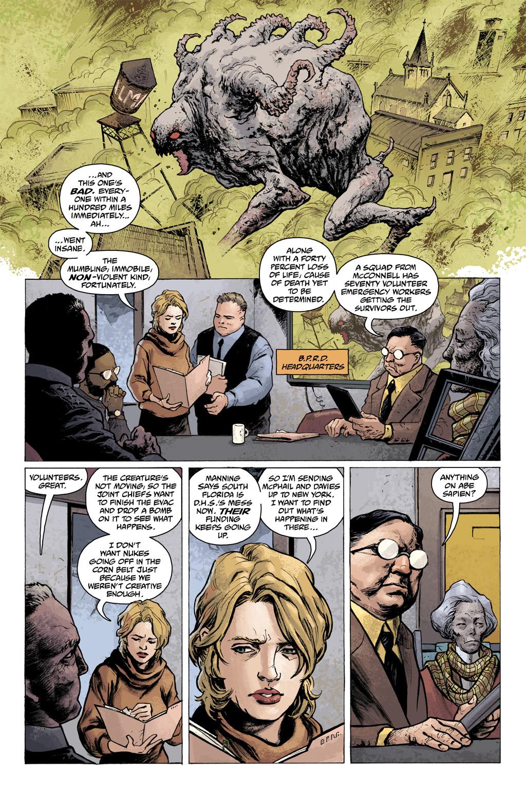 Read online Abe Sapien comic -  Issue #1 - 7