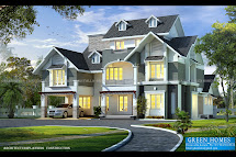 Green Homes Awesome European Style House In 3650 Sq.feet