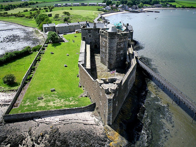Blackness Castle (Fort William) - cenário de Outlander