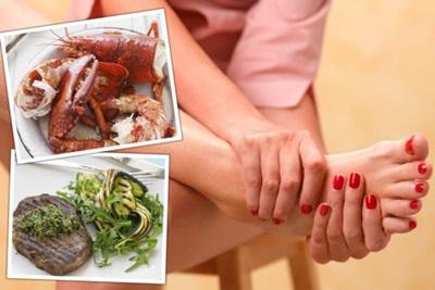 5 Makanan Pemicu Asam Urat Tinggi