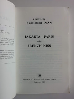 J.P.V.F.K.: Jakarta - Paris via French Kiss