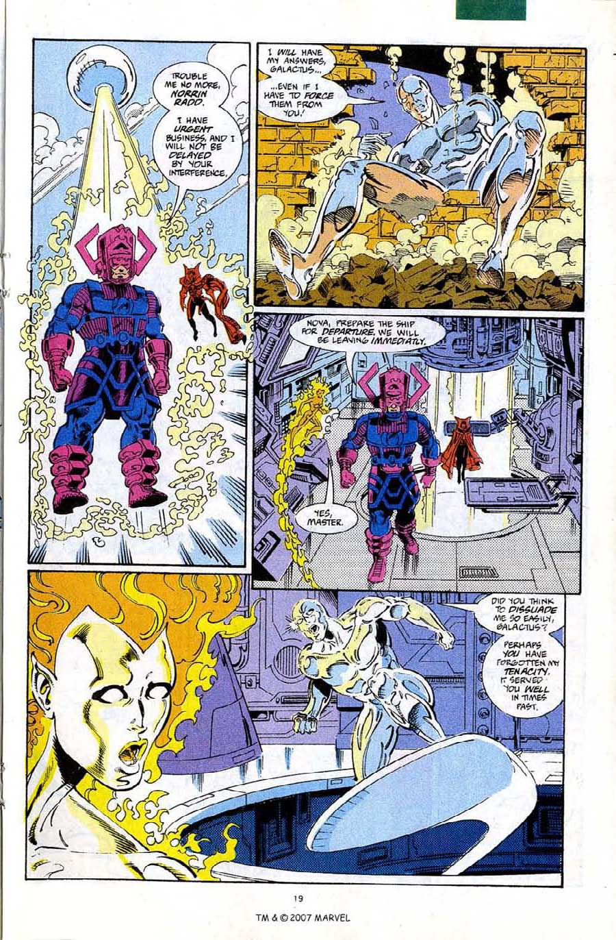 Read online Silver Surfer (1987) comic -  Issue #67 - 21