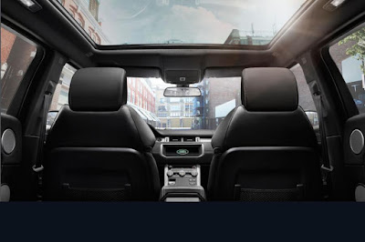 Range Rover Evoque safety and security