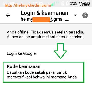 Verifikasi login akun gmail dengan ponsel6