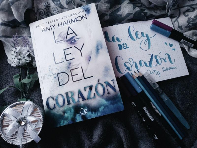 Foto del libro La ley del corazon de la autora Amy Harmon