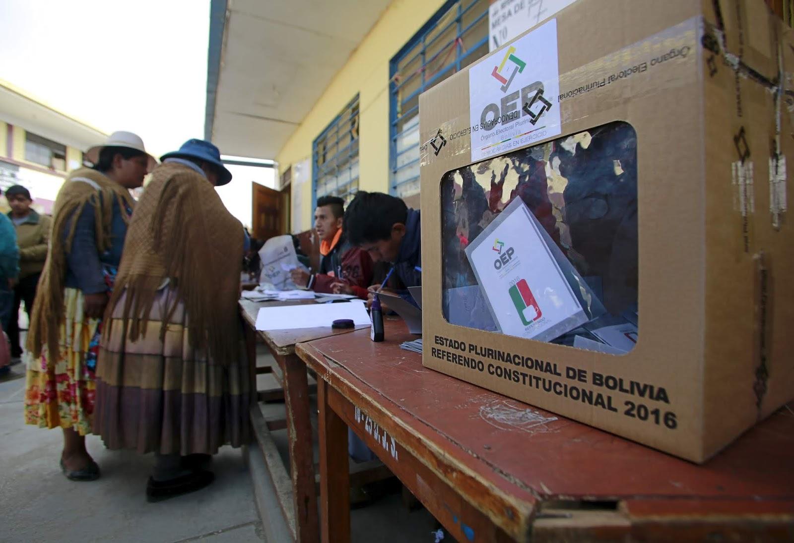 En Bolivia se vive al menos uno o dos procesos electorales cada año / REUTERS