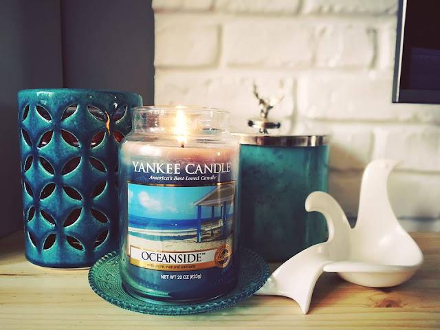 Kropla morskiego turkusu - Oceanside Yankee Candle