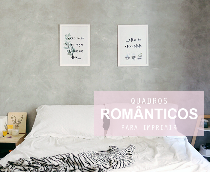 Posteres românticos gratuitos para imprimir