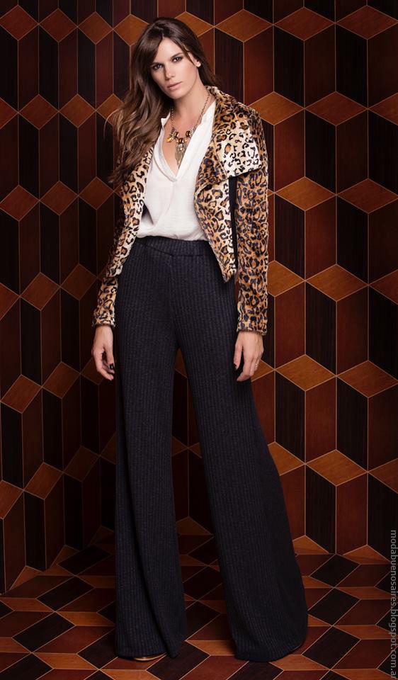 Sacos de moda invierno 2016 Silvina Ledesma. Moda 2016.