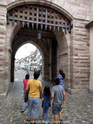 Seeing Basel with a big family