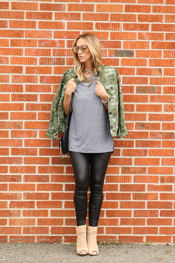womens camo utility jacket