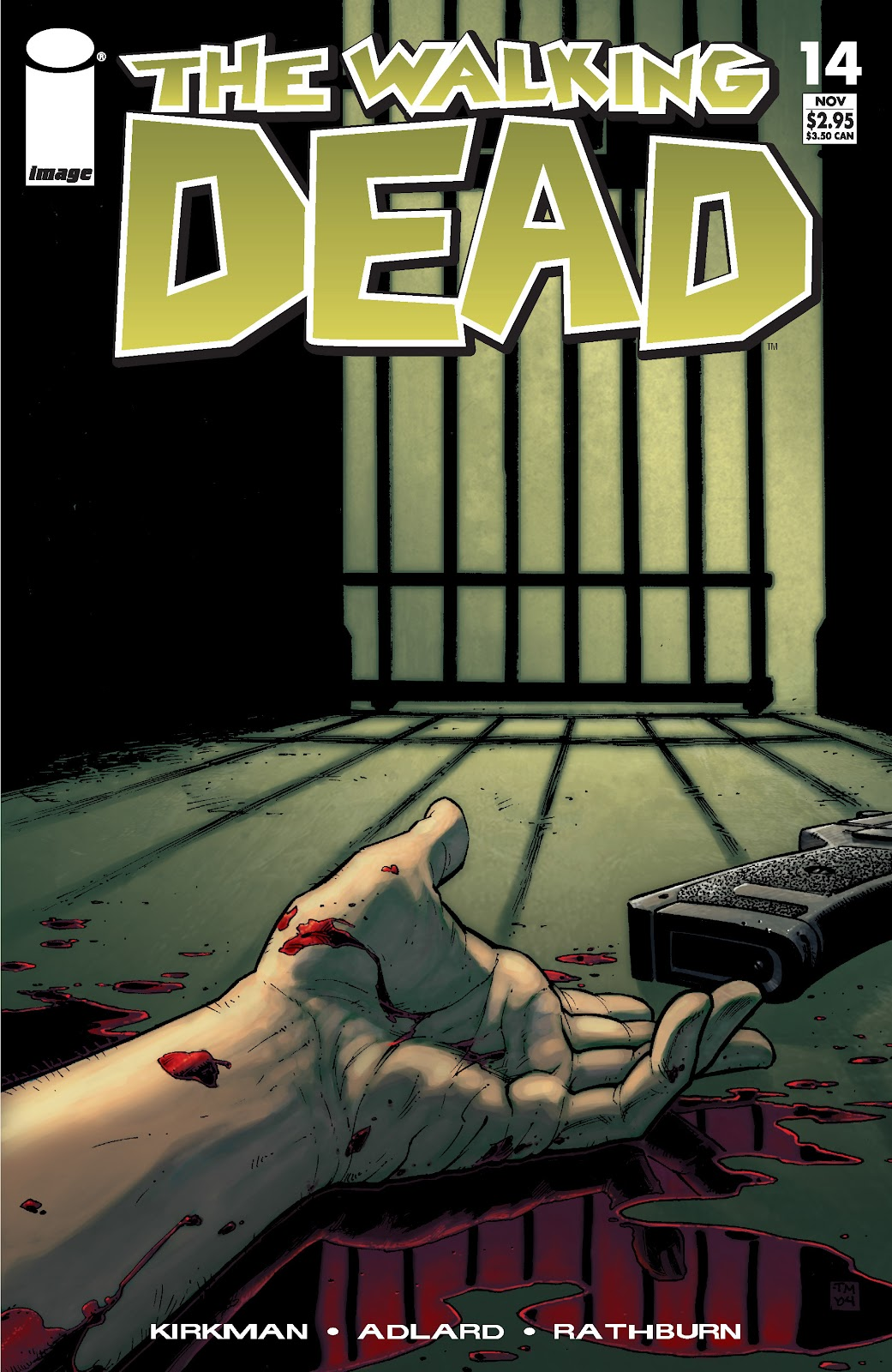 The Walking Dead issue 14 - Page 1