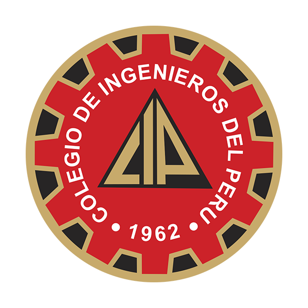 Logo Colegio de Ingenieros - Auspiciador III Congreso Internacional de la Industria Plástica, Lima, Perú, abril 2020