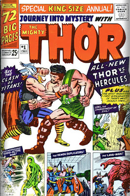 1965 Journey Into Mystery Annual 1 Thor