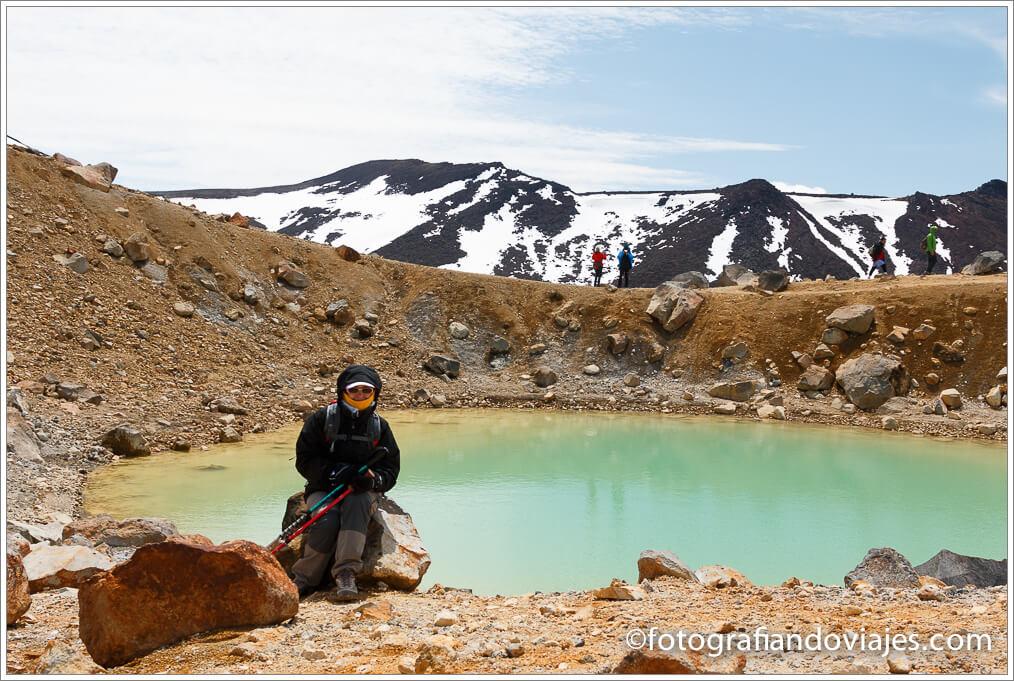Emerald pools en Tongariro Alpine Crossing