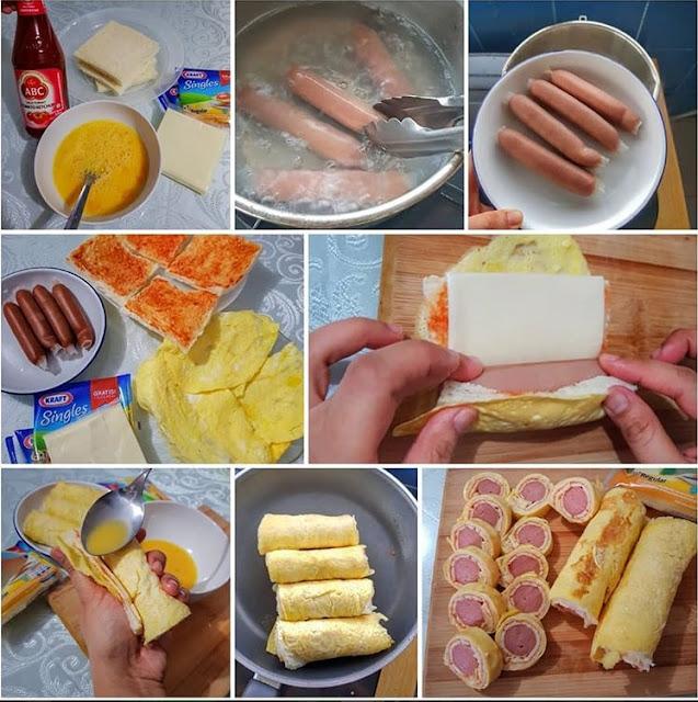 Sushi Bread Praktis dan Sederhana