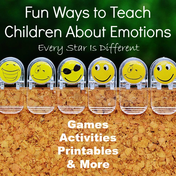 Fun ways to teach children about emotions