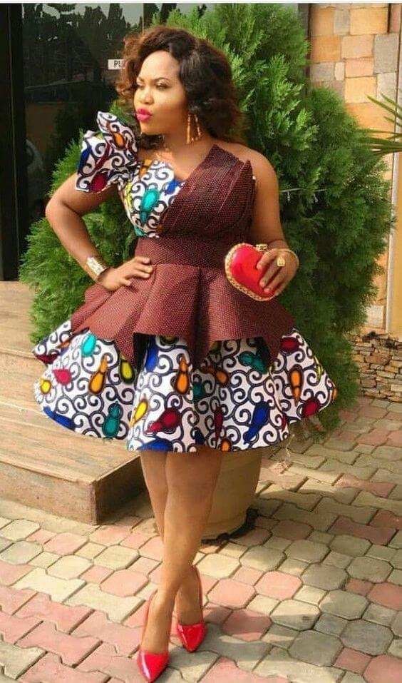 47 Ghanaian Ankara Styles Attires For African Women To Rock
