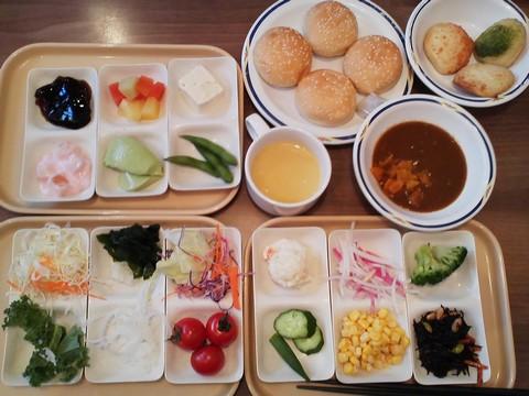 健康サラダバーランチ¥647-2 ステーキガスト一宮尾西店2回目