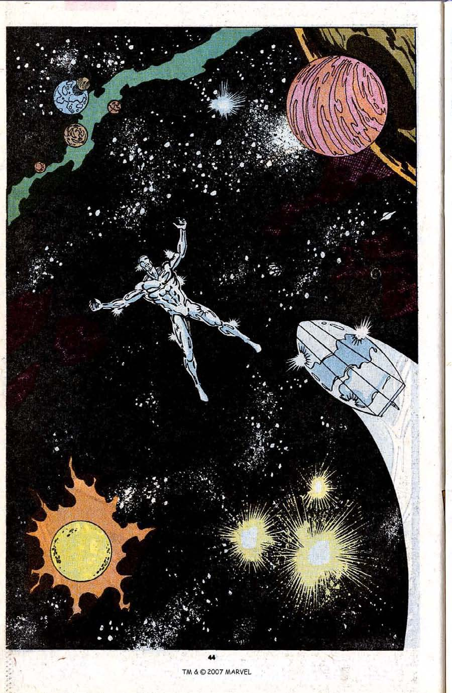 Read online Silver Surfer (1987) comic -  Issue #31 - 46