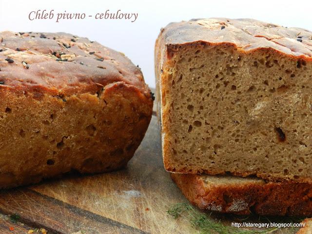 Chleb piwno - cebulowy - lutowa piekarnia
