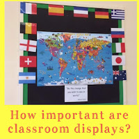 how important are classroom displays