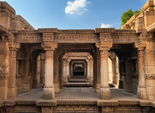 Entrance of Adalaj Stepwell, Ahmedabad, Gujarat