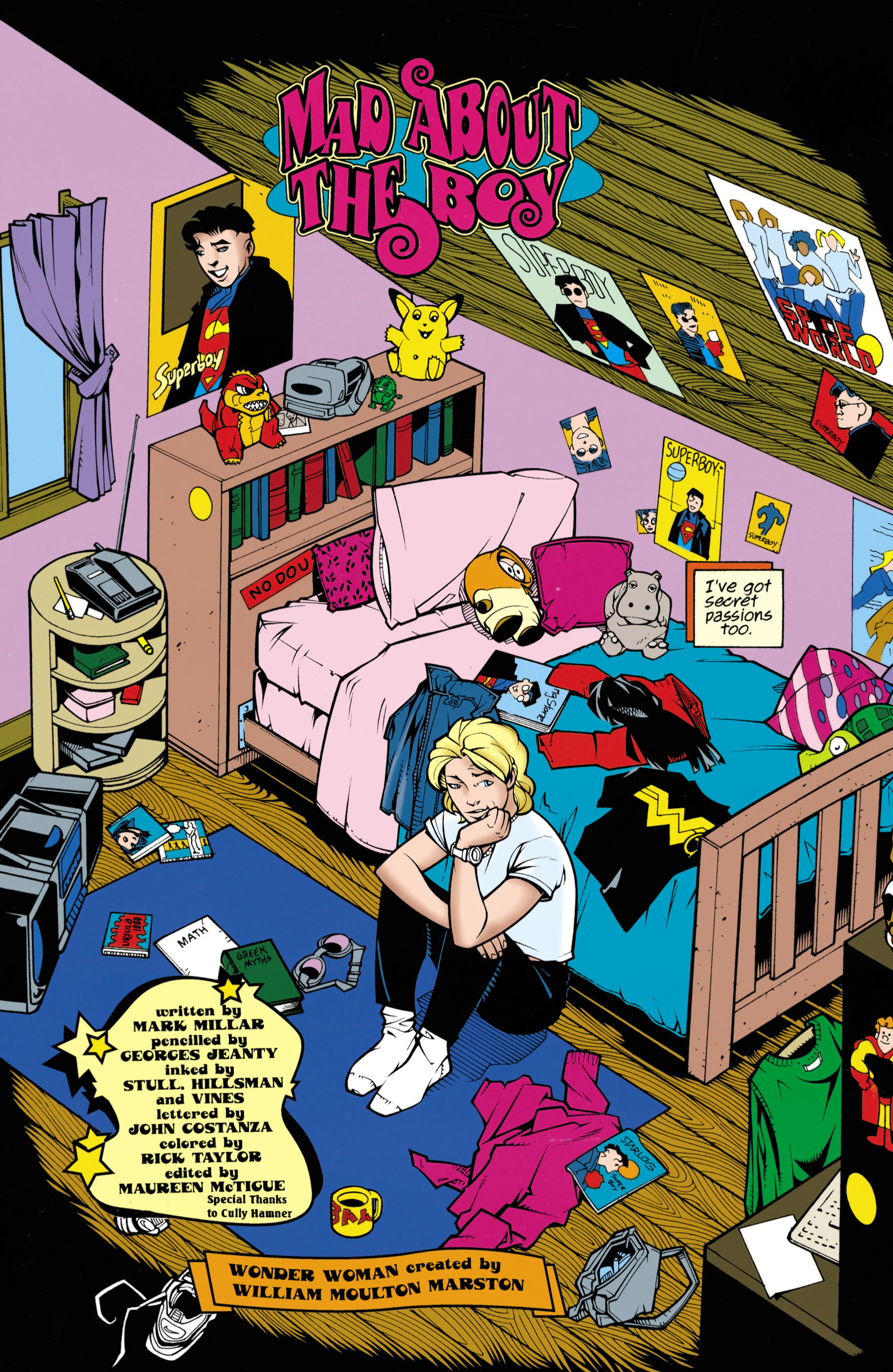 Read online Wonder Woman (1987) comic -  Issue #153 - 5