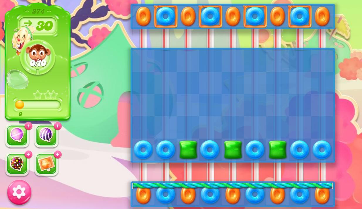 Candy Crush Jelly Saga 374