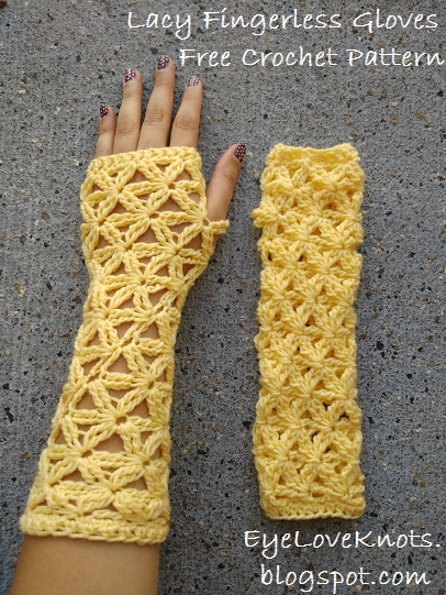 Eyeloveknots lacy fingerless gloves free crochet pattern i originally designed these lacy fingerless gloves back in april of last year 2016 to submit to the happily hooked magazine for issue 26 light lacy dt1010fo