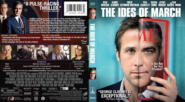 The Ides Of March (scan) Bluray Cover