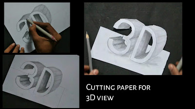 How to draw 3D block letters, step by step tutorial, drawing for kids, how to draw 3D block letters, step by step tutorial, drawing for beginners, graphite pencils drawing of blocks letters, how to draw 3D drawing with pencil