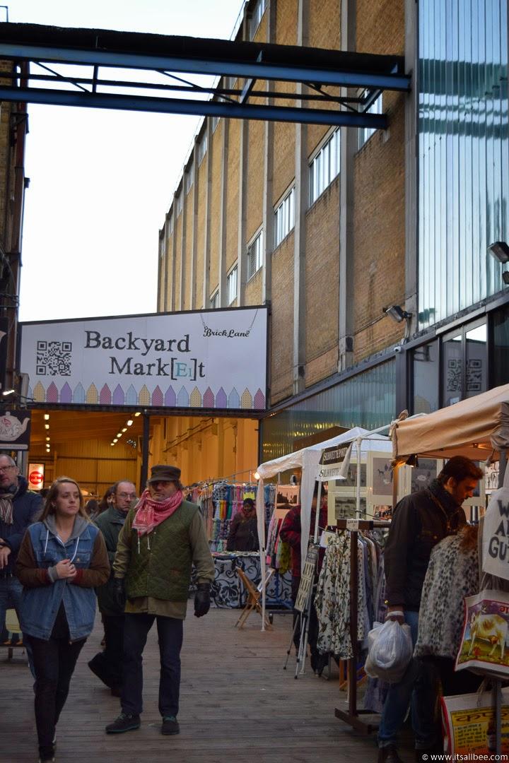Backyard Market - brick lane market