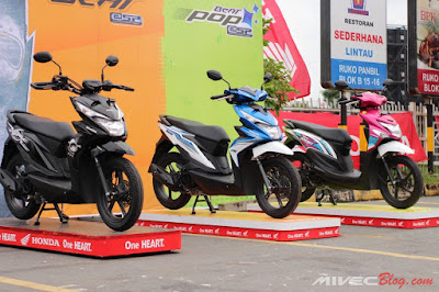 Trio Honda Beat