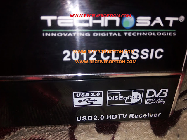 TECHNOSAT 2012 CLASSIC HD RECEIVER DUMP FILE