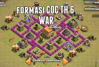 Formasi COC TH 6 War
