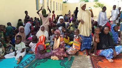 Photos: Boko Haram terrorist Children was handed over to Borno state Govt.