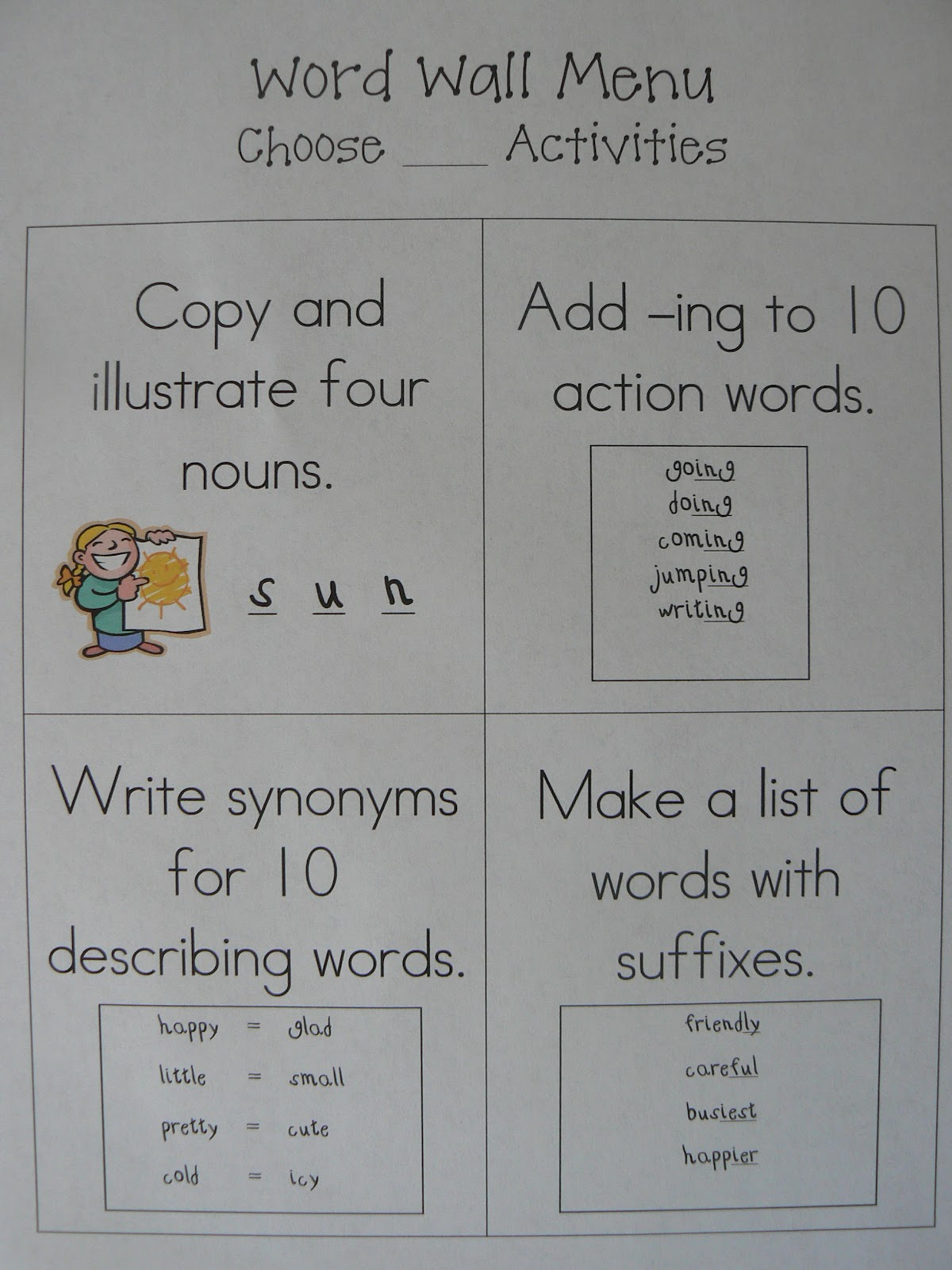 Mrs T S First Grade Class Words Their Way Games And Word