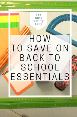 Saving on Back to School Essentials