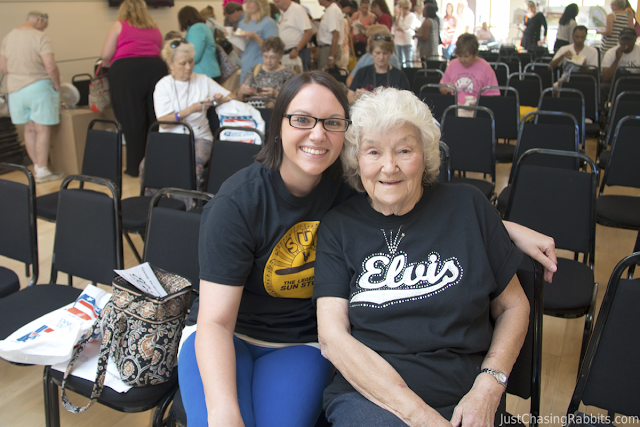 Chatting with Mrs. Louise Smith, Elvis' cousin