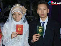 Heboh!! ABG Ganteng Lulus SMA Ini Nikahi Nenek 52 Tahun di Medan
